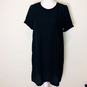 Joie Single Breast Pocket T-Shirt Dress